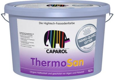 Фасадная краска Caparol ThermoSan Nano Quarz Gitter